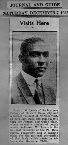 President Jesse Lewis 1935