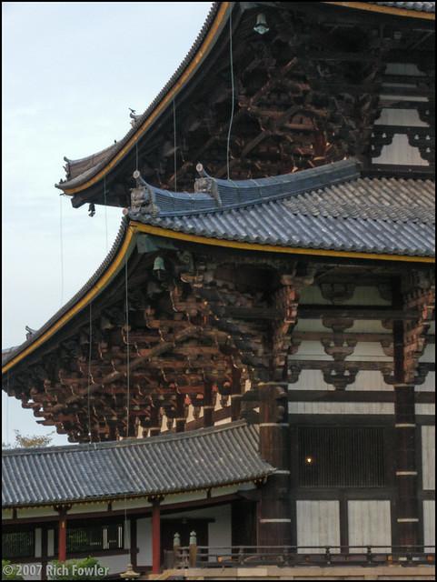 Todaiji Temple Daibutsuden Detail