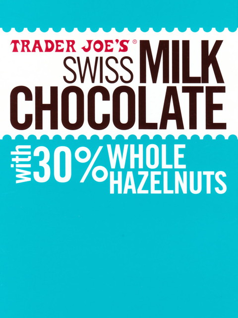 How To Make A Book Cover With A Trader Joe S Bag : Trader joe s swiss milk chocolate with whole hazelnuts