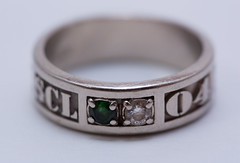 silver class ring 2