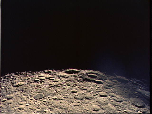Far Side of the Moon, Seen From Apollo 13 (NASA, Moon, 6/23/09)