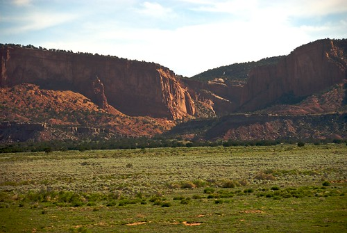 red newmexico green rock train hills amtrak nm plain southernchief northguam