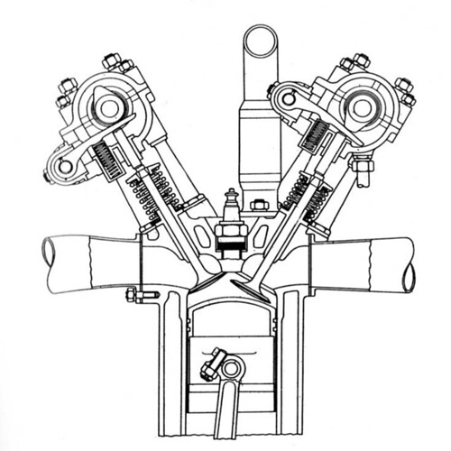 piston engine diagram sohc  piston  free engine image for