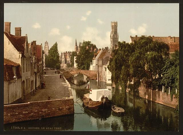 [Quai vert, Bruges, Belgium] (LOC)