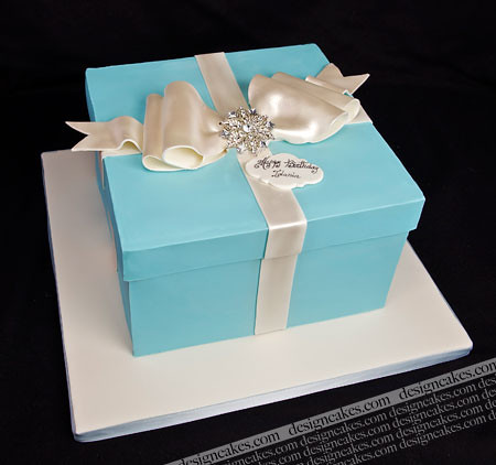 Cake Ideas From Cake Box : Tiffany box cake Flickr - Photo Sharing!
