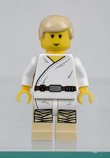 LEGO Star Wars Visual Dictionary Luke Skywalker