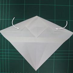 วิธีพับกระดาษเป็นรูปปลาแซลม่อน (Origami Salmon) 014