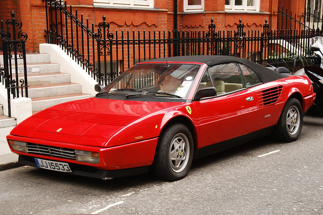 1985 ferrari 3 2 mondial cabriolet flickr photo sharing. Black Bedroom Furniture Sets. Home Design Ideas