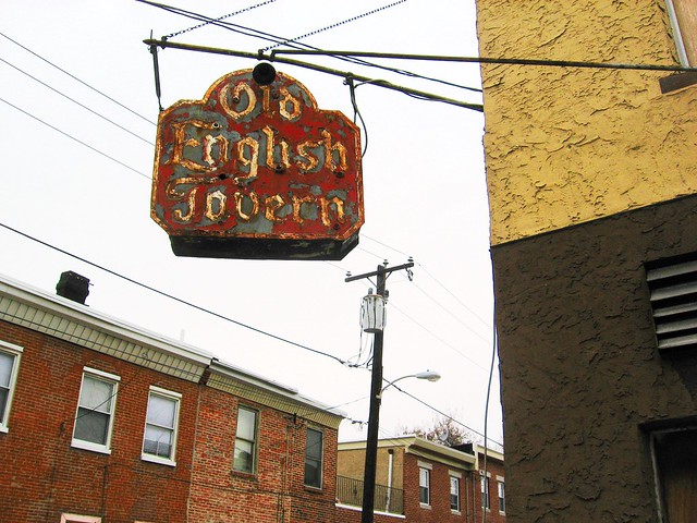Old English Taverns http://www.flickr.com/photos/pwbaker/3317355235/
