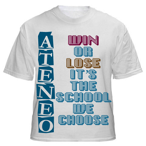 ATENEO SHIRT code: cien007 | Flickr - Photo Sharing!