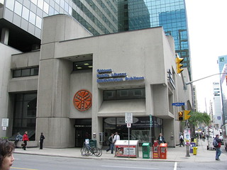 A photograph of the Ottawa Public Library in d...