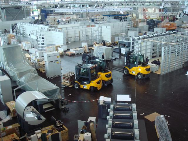 Drupa aufbauarbeiten flickr photo sharing for Maschinenbau offenbach