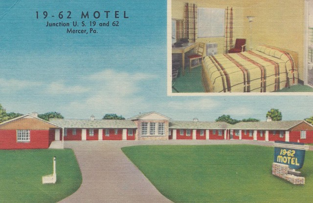 19-62 Motel - Mercer, Pennsylvania