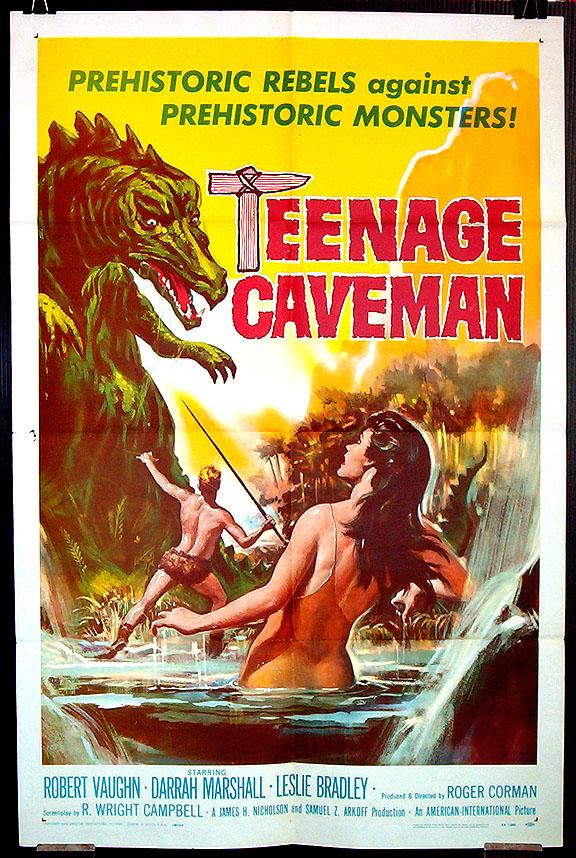 teenagecaveman_poster