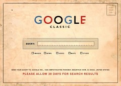 Google Classic: Please Allow 30 Days for your Search Results (Original artist unknown) #Google