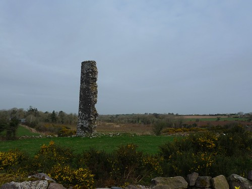 Ruine sur la route de Waterford