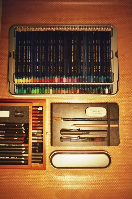 My desk : Drawing tools