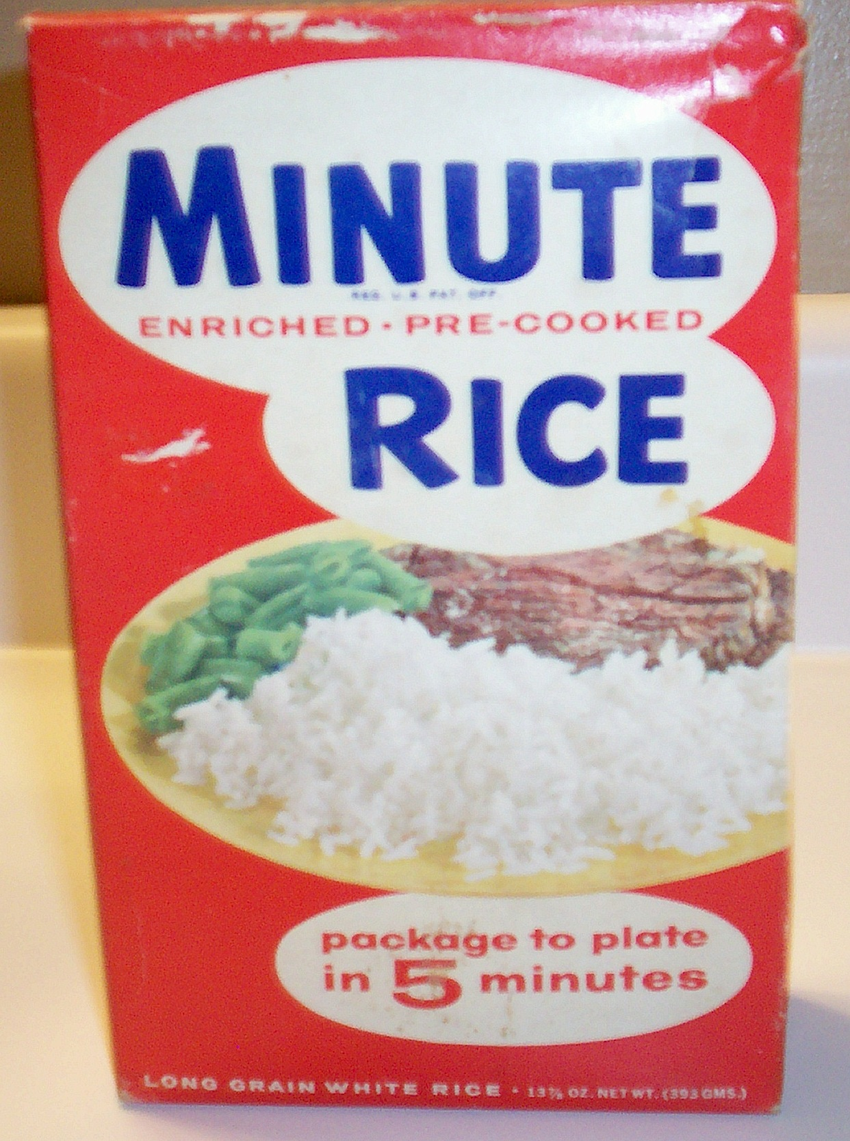 Minute Rice box | Flickr - Photo Sharing!