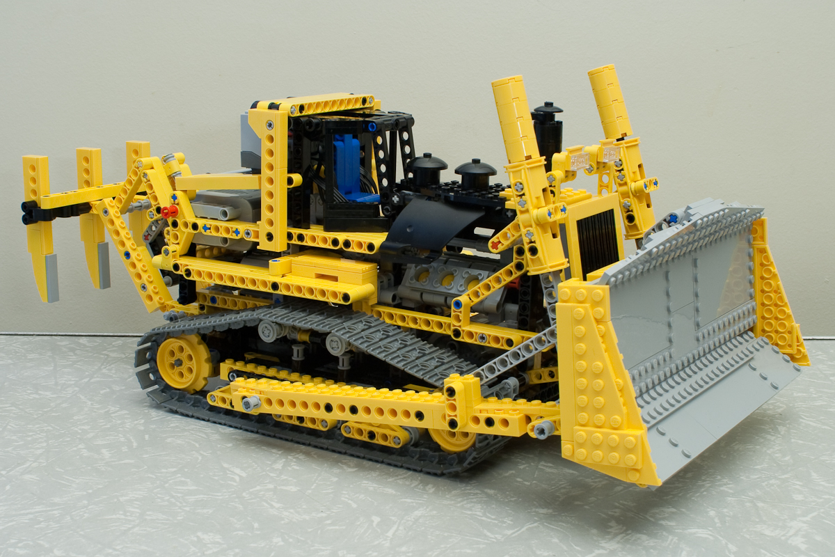Rc Bulldozer Building Kits