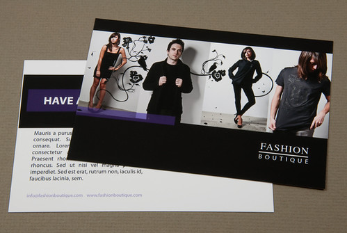 Fashion Boutique Postcard