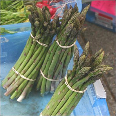 Storing Asparagus