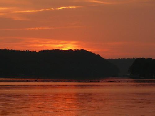 sunset orange sun water river alabama athens wmp elkriver fz50 panasoniclumix bkhagar