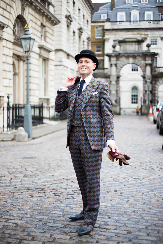 Street Style - Guy Hills, London Fashion Week