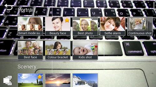 Mode ถ่ายภาพต่างๆ ของ Samsung Galaxy Camera 2