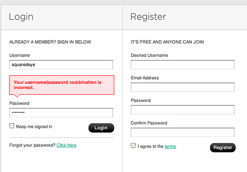 Really great error handling on this form at imgspark