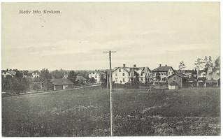 Motiv från Krokom (ca. 1924)
