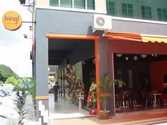 The opening of bing! Coffee @ Premier 101