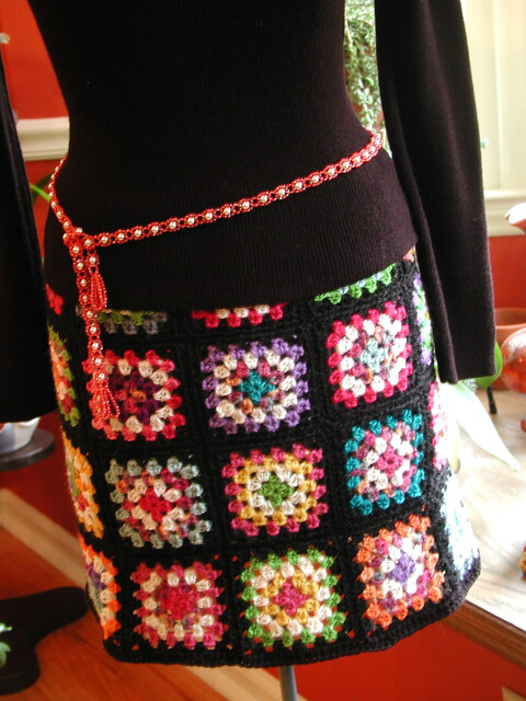 Groovy Granny Square Skirt Flickr - Photo Sharing!