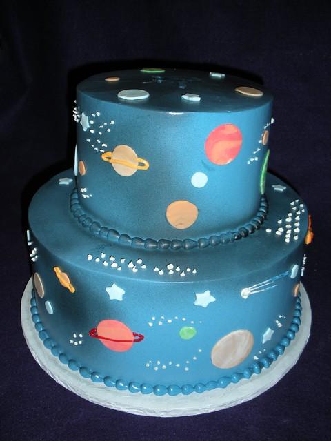 Astronomy Cake Designs