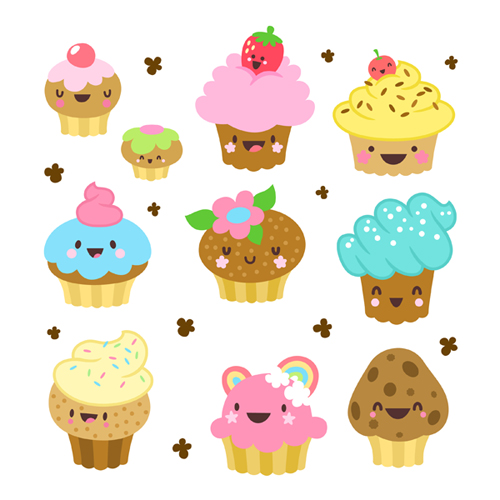 Cupcake Animated Images : Cute Animated Cupcake Backgrounds