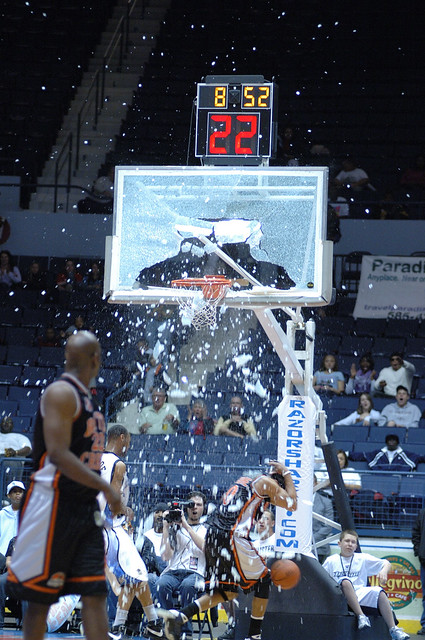 Basketball Backboard BLAM!!
