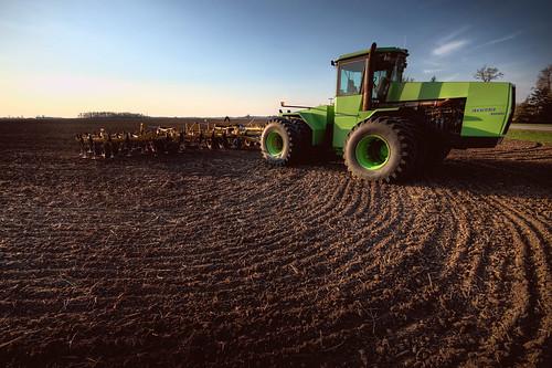 sunset ohio tractor nikon farm plow hdr d300 sigma1020mm photomatrix 7exp