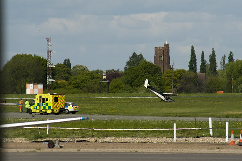 Light Aircraft Bad Landing