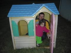 dollhouse(0.0), toy(0.0), playhouse(1.0), play(1.0),