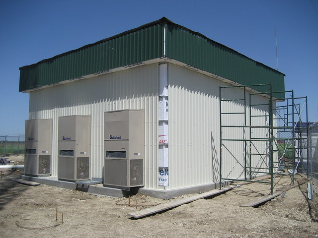 Siding, Steel, Electrical, and RF Plumbing 017