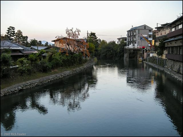 Arashiyama canal