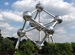 The Atomium from the 1958 World Fair
