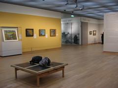 Van Gogh Museum Amsterdam 1963-1973 Paulus Potterstraat 7  Schetsontwerp: Gerrit Th. Rietveld (1888-1964) van Rietveld, van Dillen en van Tricht Uitvoering gewijzigd ontwerp: J. van Tricht (1928)  Fotografie in het kader van 'Wiki Loves Art' dinsdag 23 juni 2009 08.00 - 10.00 uur