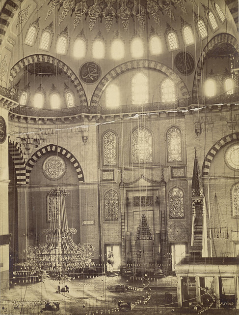 Interior Of The Suleymaniye Mosque, Nave