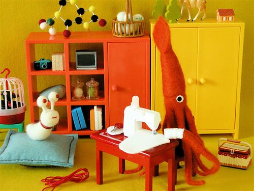 VIDEO: Mr. Squid's Handmade Moment