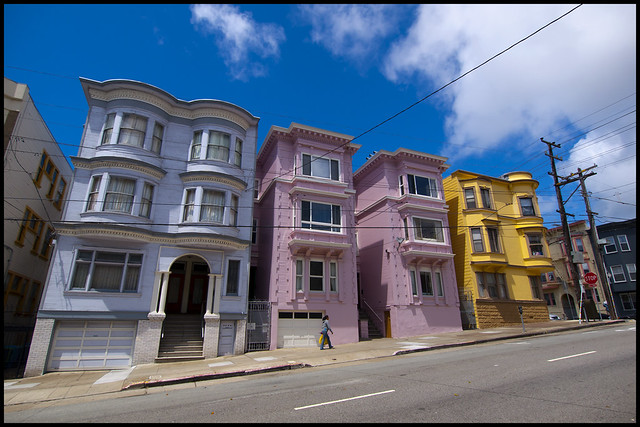Colourful San Francisco