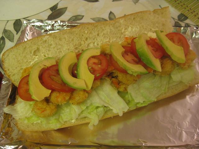 Shrimp Po'Boy Sandwich | Flickr - Photo Sharing!