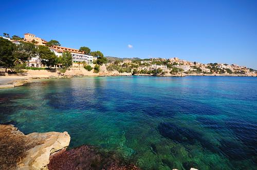 Una cala en Mallorca