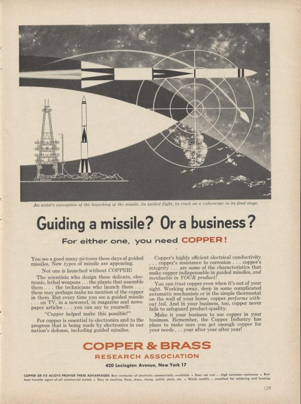 Copper & Brass Ads