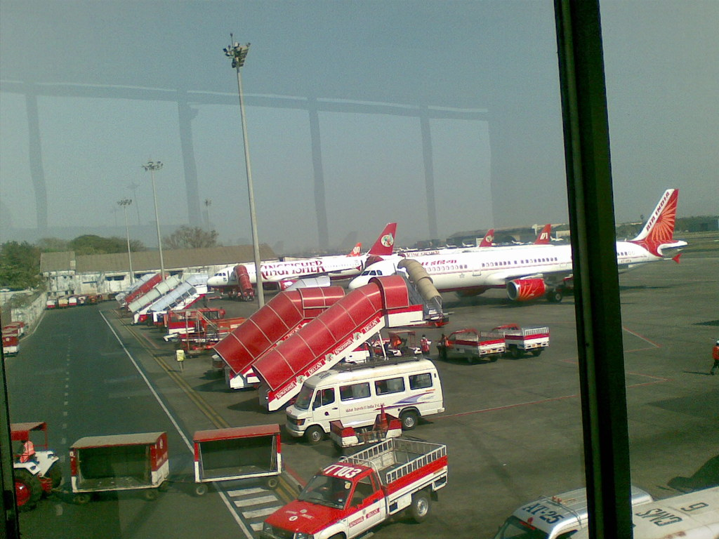 Kingfisher Airlines Dehli Airport