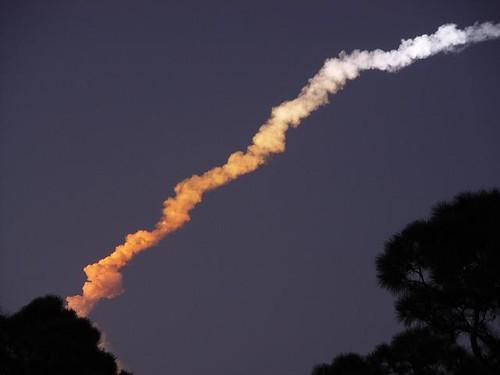 florida nighttime skywatch shuttlelaunch
